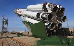 Picture The sky, People, Engine, USSR, USSR, Russia, Sky, Kazakhstan, Russia, Home, Golf, Baikonur, Proton, Engine, …