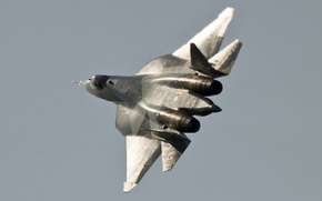Picture 2011, August 17, Moscow (UUBW), Sukhoi T-50