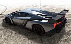 Picture Auto, Lamborghini, Wheel, Street, Silver, Lambo, Lamborghini, Chrome, Veneno