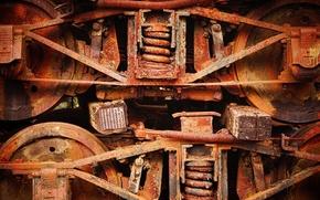 Picture background, rust, scrap