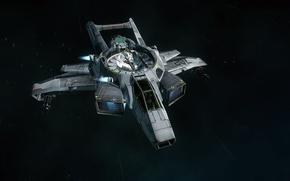 Picture space, flight, spaceship, Star Citizen, Star citizen