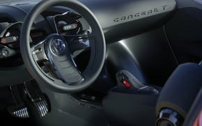 Picture style, Volkswagen, Concept T, interior view