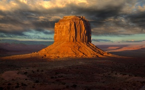 Picture the sky, rock, desert, valley, USA