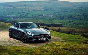 Picture Mercedes, AMG, Mercedes Wallpaper, 2016 Mercedes-AMG GT S, Mercedes 2016, 2016 Mercedes-AMG GT S Wallpaper