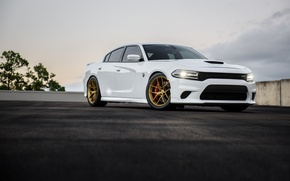 Picture Dodge, One, Charger, Forged, Hellcat, Piece, Forgeline, Monoblock, on