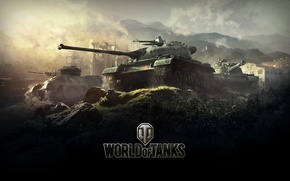Picture World of Tanks, Chinese, Video Game, Light Tank, Tanks, WZ-132