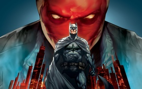 Wallpaper City, Action, Red, Heroes, Superheroes, 2010, Hero, Batman, the, Black, Jensen Ackles, Wallpaper, Eyes, Super, ...