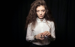 Picture Lorde, Lord, singer