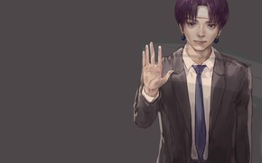 Picture background, anime, art, guy, Hunter x Hunter, Hunter x hunter, Halo
