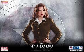 Picture Marvel, the first avenger, Capitan America, agent Carter, agent Karter