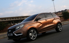 Picture car, concept, Lada, xray