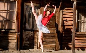 Picture dance, grace, Pointe shoes, Ballerina Dance