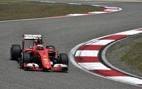 Picture Ferrari, Formula 1, Kimi Raikkonen Also, The Chicane, SF15T
