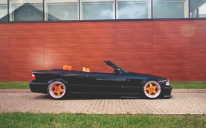 Picture wall, bmw, BMW, convertible, e36