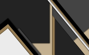Wallpaper line, grey, black, geometry, beige, material