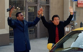 Picture Jackie Chan, Chris Tucker, Rush hour, Rush Hour
