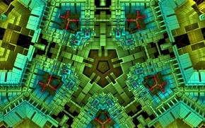 Picture Wallpaper, color, structure, geometry, designer, pentegon, the Pentagon