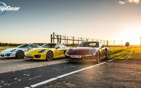 Picture Porsche, Top Gear, GT3, Top Gear, Supercar, Supercars, Cayman S, 911 Turbo S