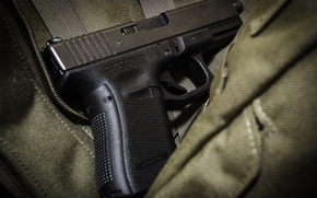 Picture gun, weapons, Glock 19