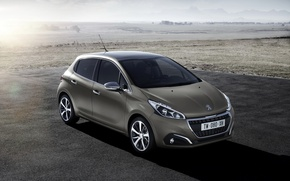 Wallpaper 3-door, Peugeot, 2015, 208, Peugeot