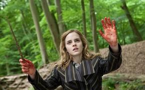 Picture Emma Watson, witchcraft, Hermione Granger