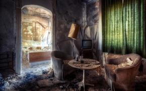 Picture room, furniture, interior