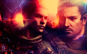Picture Resident evil, Resident Evil 6, Chris Redfield, Chris Redfield, Piers Nivans