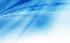 Wallpaper strips, white, blue