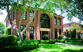 Picture the city, house, style, Villa, architecture, Houston