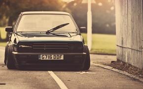 Picture black, tuning, Volkswagen