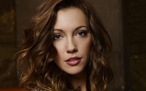 Picture girl, face, actress, the series, brown hair, curls, Arrow, Arrow, Katie Cassidy, Katie Cassidy, Laurel …