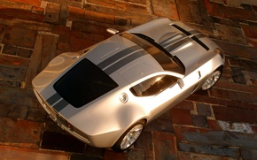 Wallpaper Ford, concept, shelby, gr-1