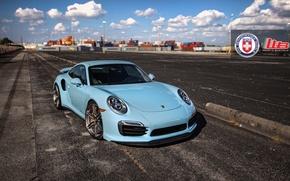 Picture Porsche, Turbo, 991, HRE, P106
