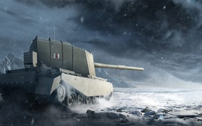 Picture WoT, World of Tanks, World Of Tanks, Wargaming Net, FV4005 Stage II