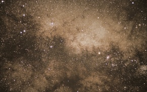 Picture space, stars, the milky way