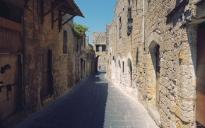 Picture street, Greece, Rhodes