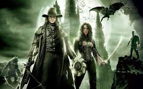 Picture Kate Beckinsale, Werewolf, Van Helsing, Hugh Jackman, Frankenstein's Monster, Van Helsing