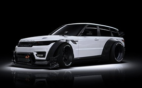 Picture Land Rover, Range Rover, Body, Front, White, Tuning, Kit