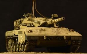 Picture toy, tank, combat, model, main, Merkava, Israel, Mk III