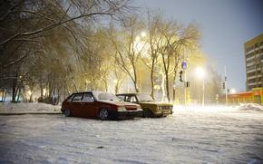 Picture Lada, BPAN, snow, winter, Auto, 2108, Lada, auto, machine, Without Landing Auto No, VAZ