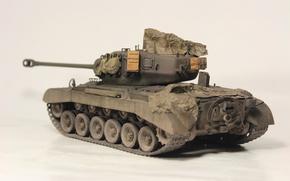 Picture toy, medium tank, model, M26, Pershing