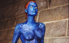Wallpaper Rebecca Romijn, Mystic, x-men