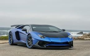 Picture Lamborghini, Vorsteiner, Aventador, Hood, Zaragoza