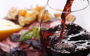 Picture wine, glass, food, alcohol