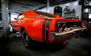Picture garage, dodge, charger