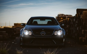 Picture tuning, Mercedes, headlights, mercedes clk 63 amg