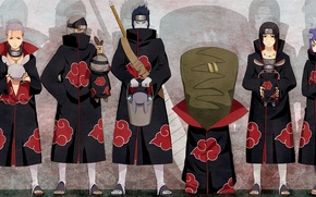 Picture Anime, naruto, pain, itachi, tobi, deidara, sasori