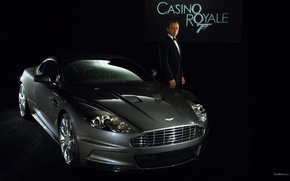 Wallpaper Casino Royale, bond, movie, James