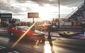 Picture track, mustang, ford, drag, race, Ford.Mustang, drag.race