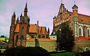 Picture the city, Lithuania, The Church Of St. Anne, Vilnius